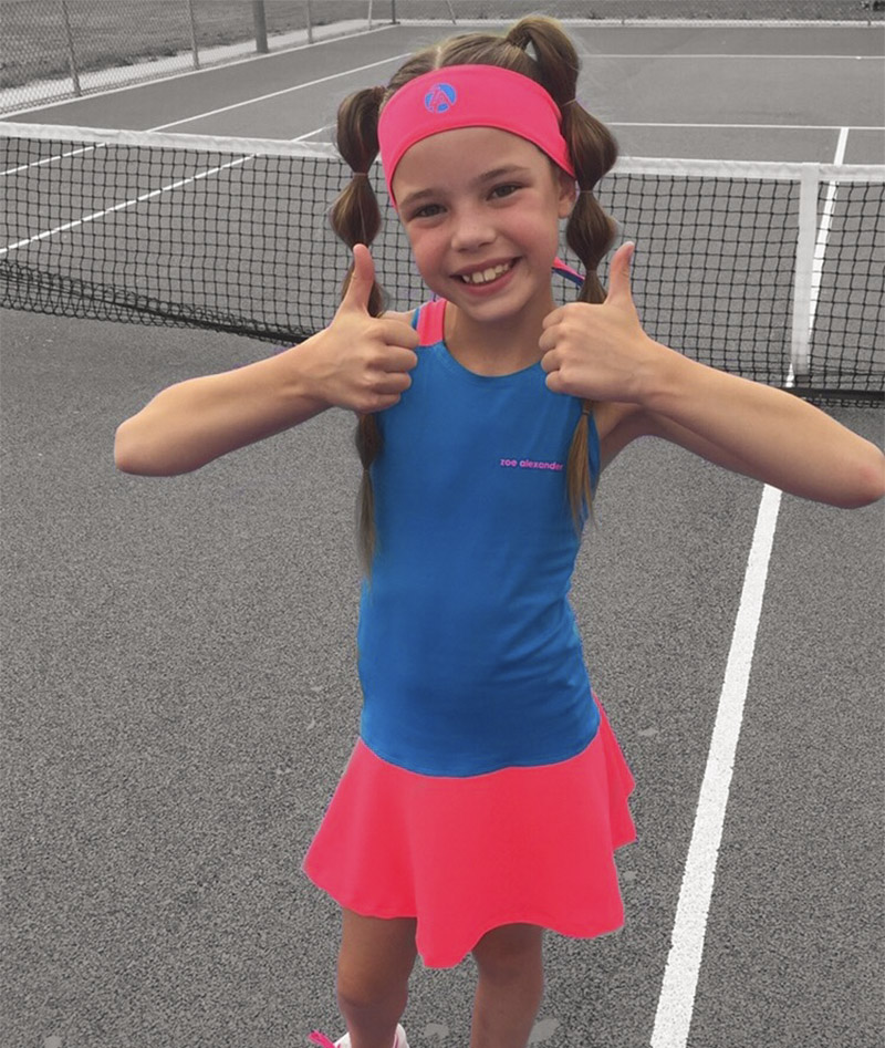 tennis dress for girls za Zoe Alexander uk