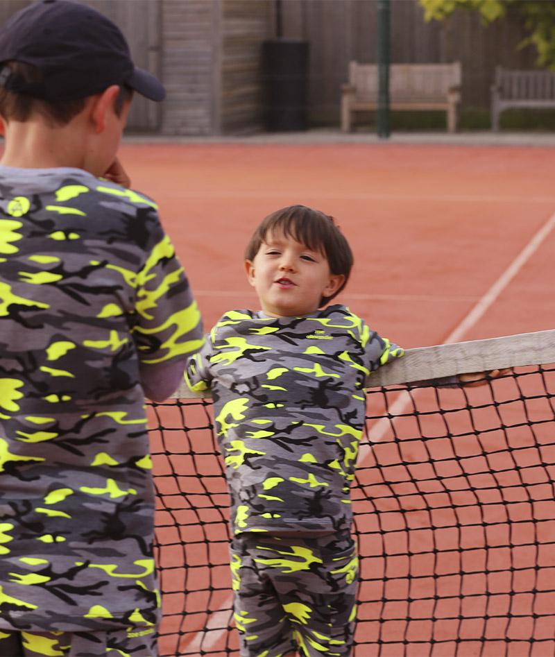 boys camo long sleeve tennis top zoe alexander