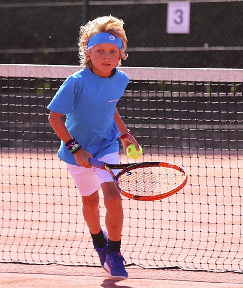 blue tennis outfit boys zoe alexander
