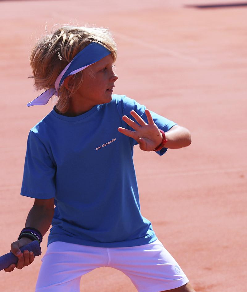 blue white boys tennis outfit zoe alexander