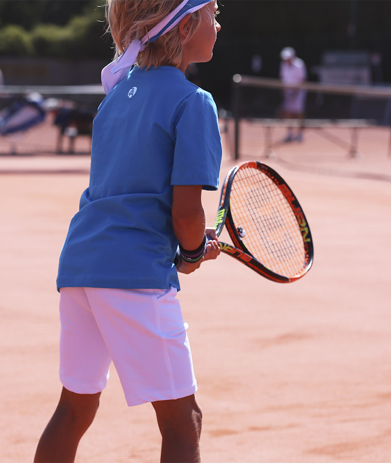 aqua blue tennis outfit for boys zoe alexander uk