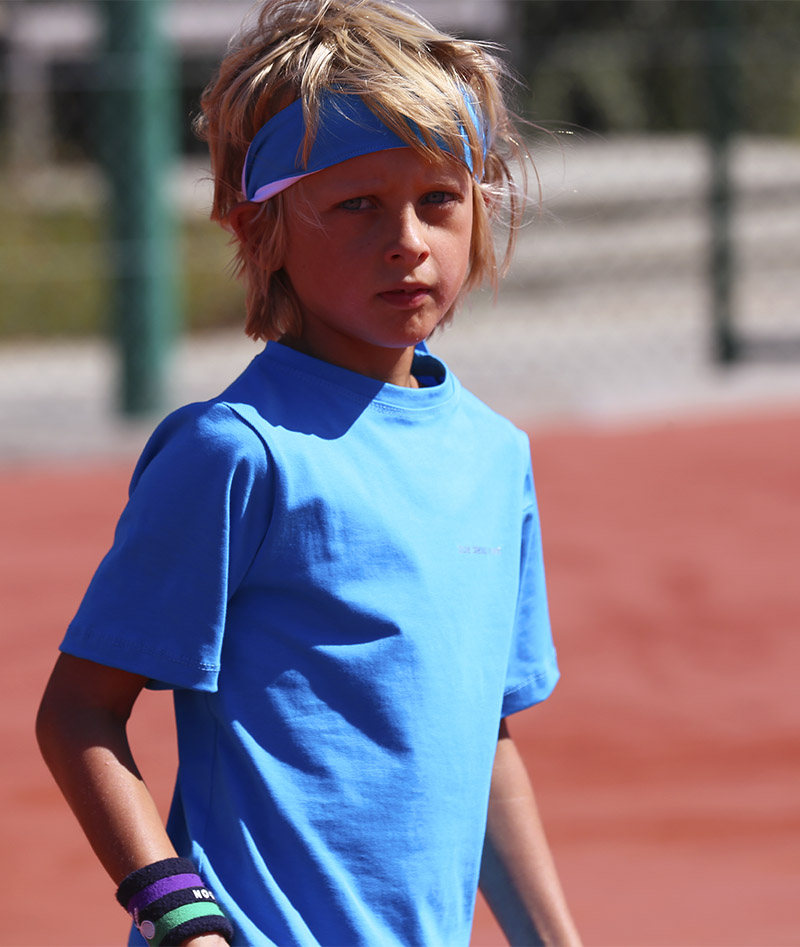joe tennis outfit boys aqua blue zoe alexander uk