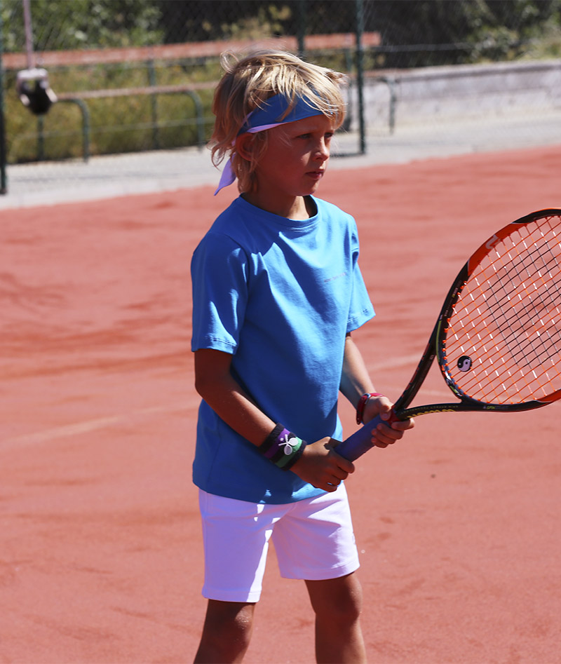 aqua blue tennis top white shorts zoe alexander uk