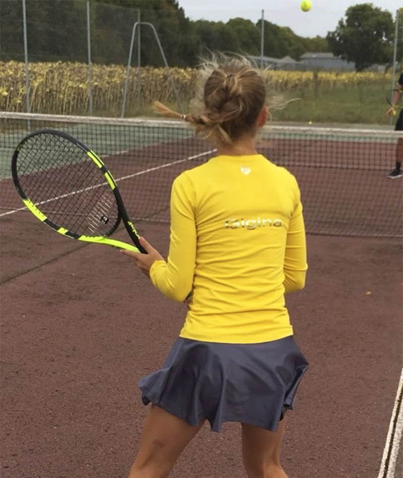 GIRLS TOP TRAINING TENNIS ZOE ALEXANDER UK ZA