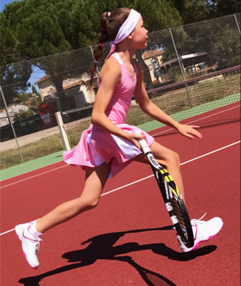 girls tennis dresses pink brianna zoe alexander uk