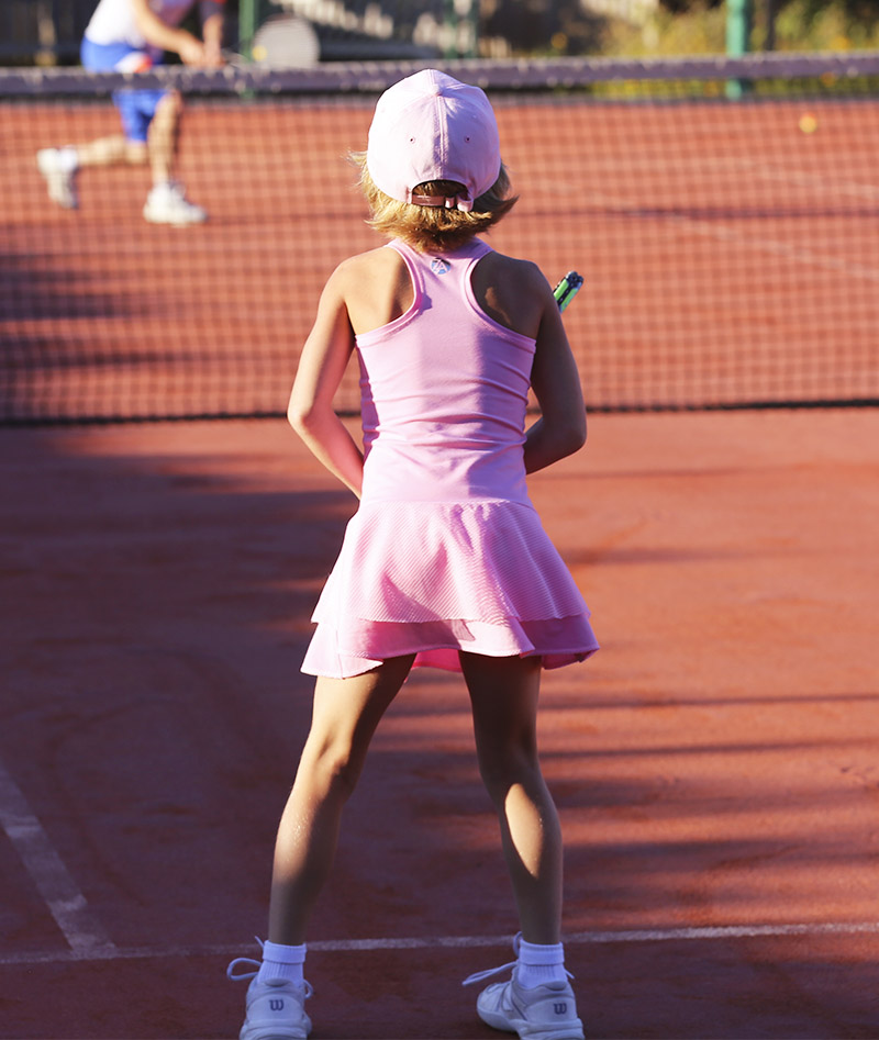 pink girls tennis dress zoe alexander uk candy