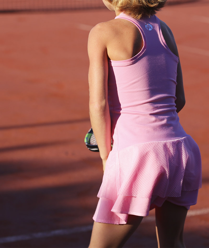 pink tennis dresses uk zoe alexander