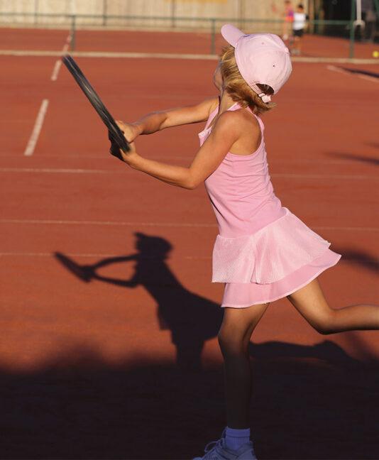 pink tennis dress for girls zoe alexander uk