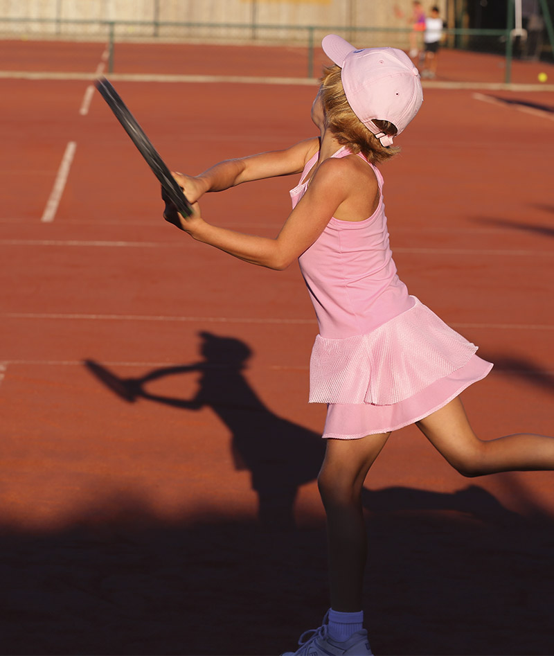 pink tennis dress for girls zoe alexander uk
