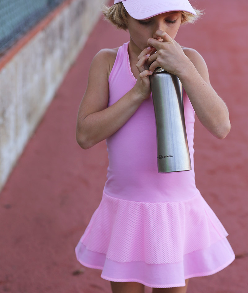 candy pink girls tennis dress girls zoe alexander