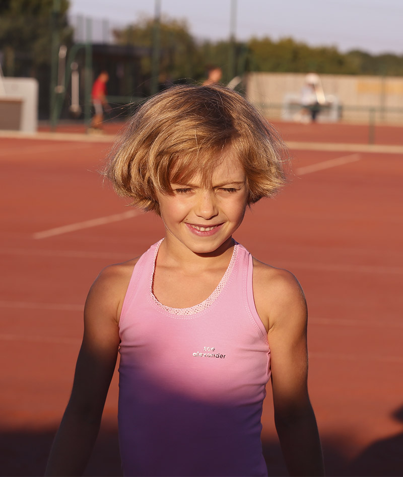 pink racerback tennis dress girls zoe alexander uk