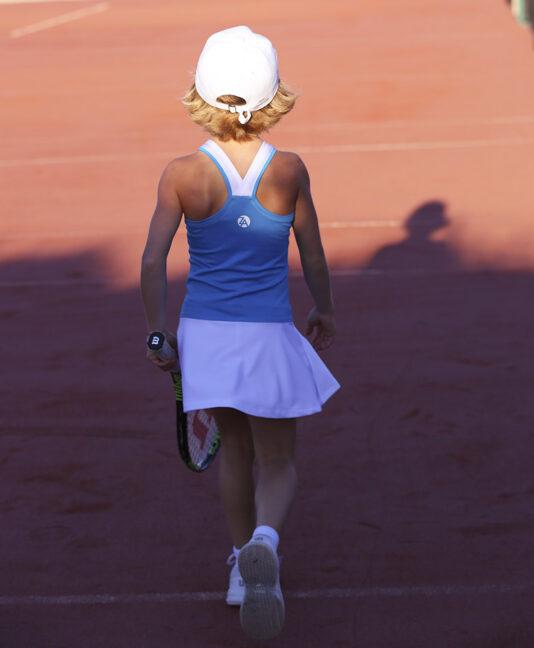 anett blue tennis dress girls zoe alexander uk