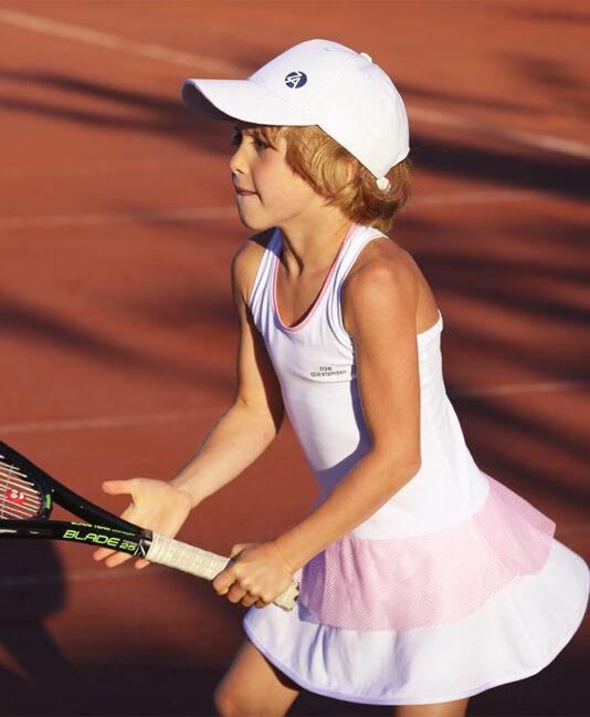 jelena white racerback tennis dress zoe alexander