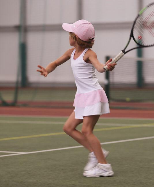 white tennis cap kids zoe alexander