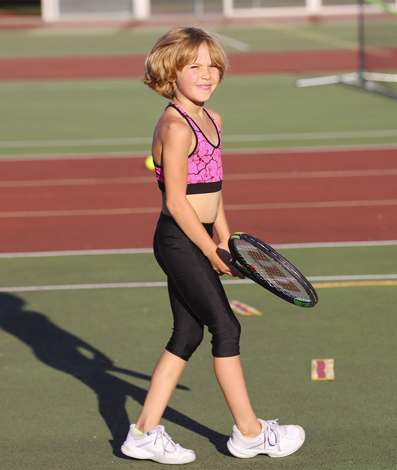 blaxk cropped leggings performance porter tennis zoe alexander uik