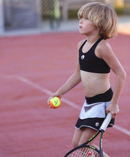 girls tennis sports bra zoe alexander uk