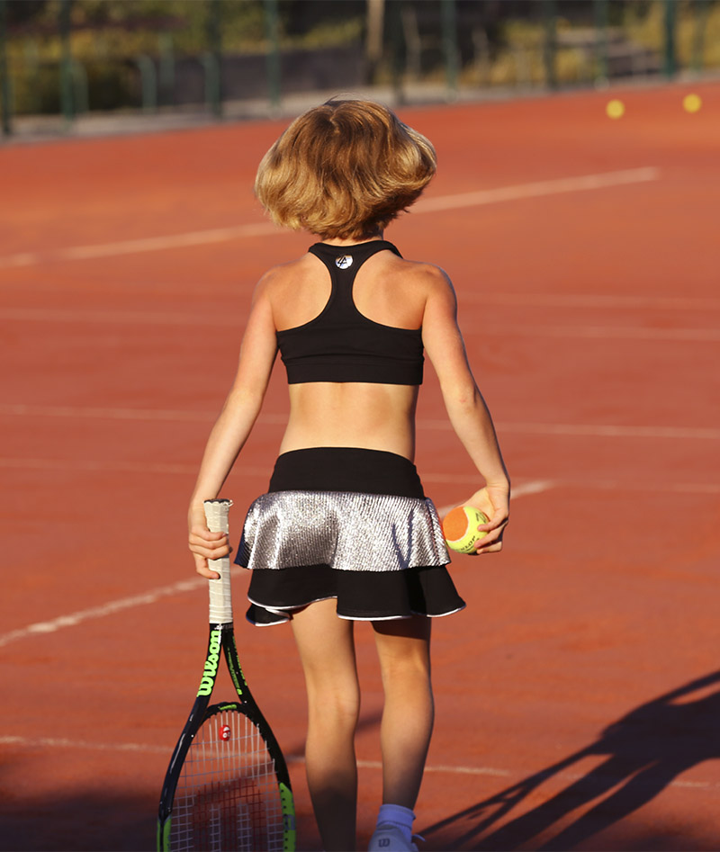 black tennis skirt zoe alexander