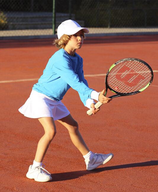girls long sleeve tennis sweatshirt zoe alexander