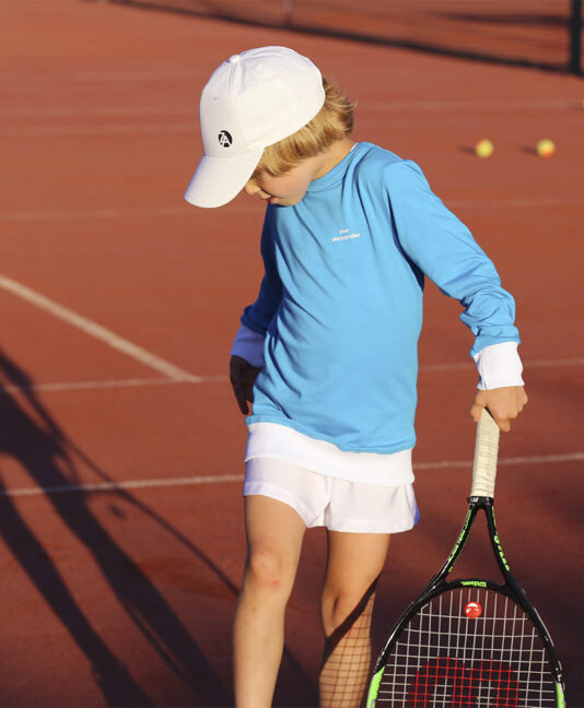 kids tennis cap zoe alexander uk