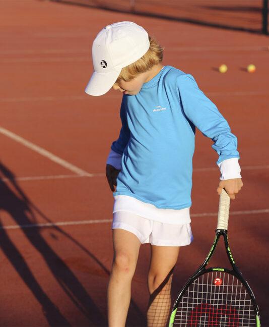 kids tennis cap zoe alexander uk