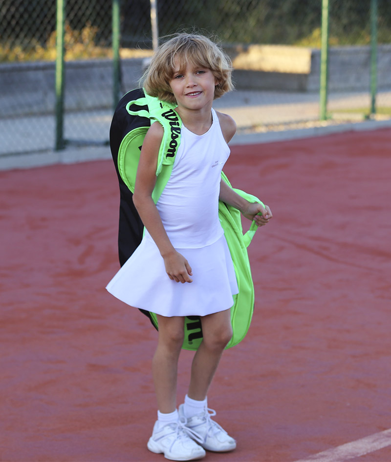 angelique white racerback tennis dress zoe alexander