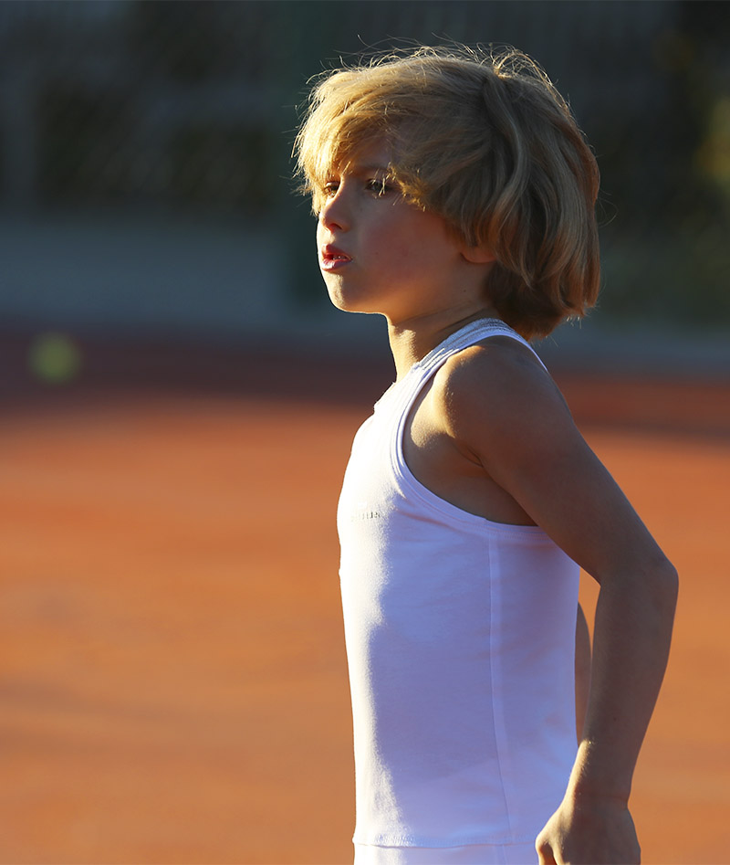 white tennis dress angelique zoe alexander