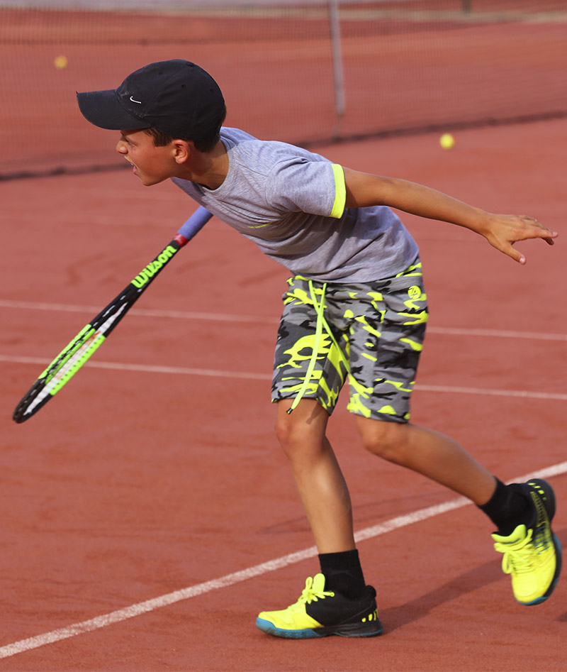 neon camo tennis shorts boys zoe alexander uk