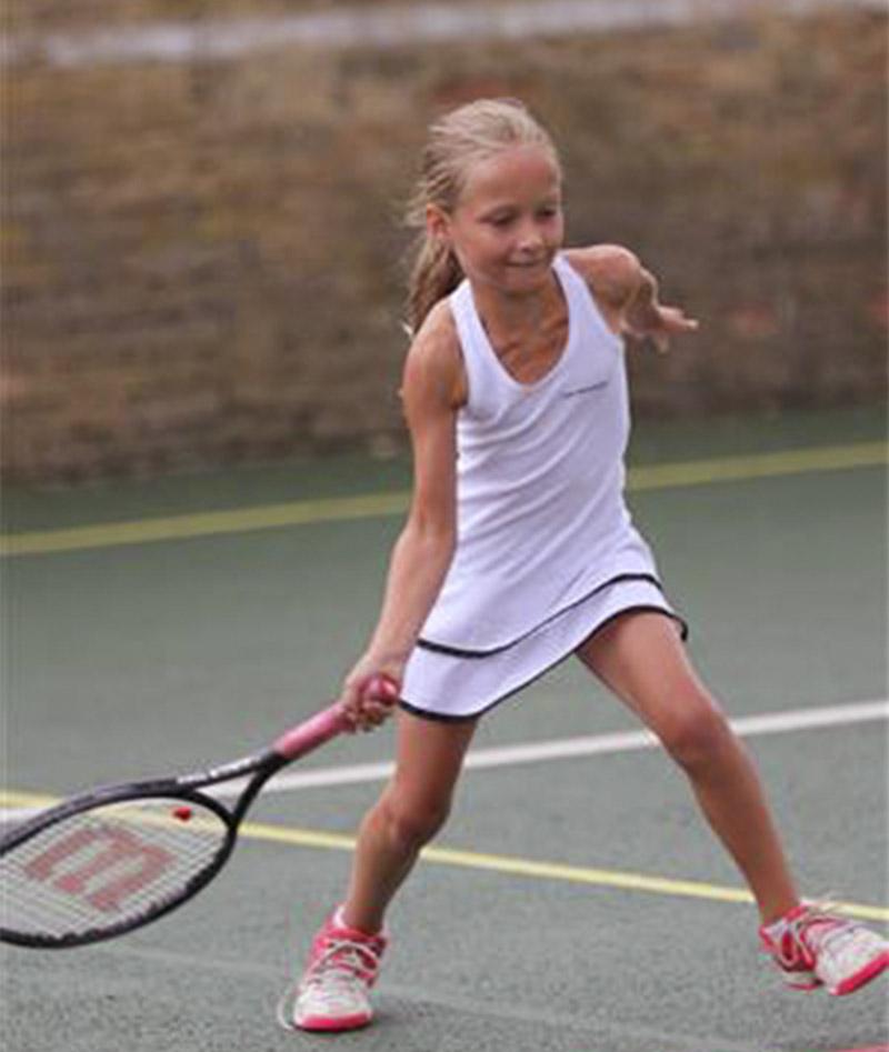 girls tennis dress white Zoe Alexander uk za