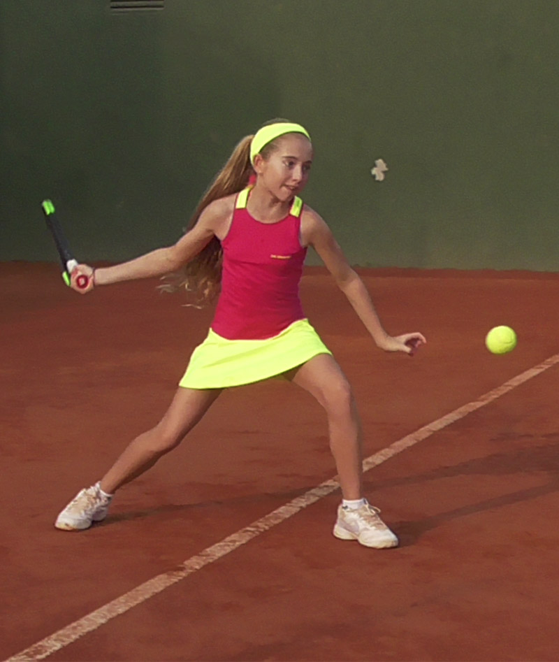 TENNIS DRESS JESSICA NEON GIRLS ZOE ALEXANDER UK ZA