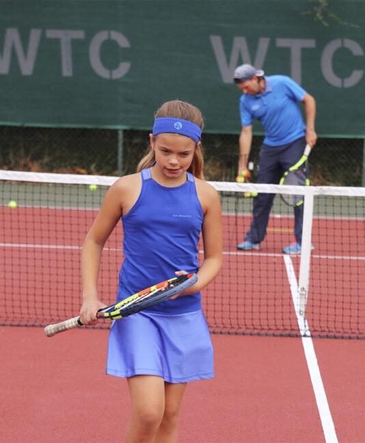 girls tennis dress uk blue zoe alexander