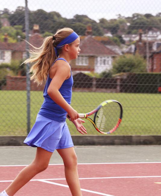 blue tennis dress girls cheryl zoe alexander uk