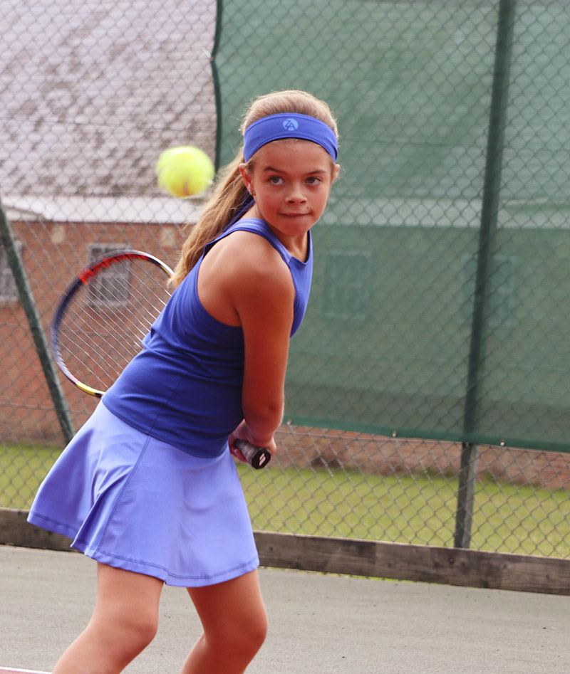 blue tennis dress for girls zoe alexander cheryl