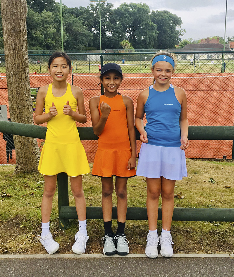 TENNIS GIRL DRESSES ZOE ALEXANDER UK