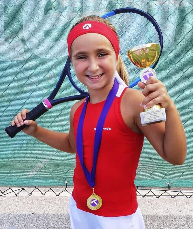 red white tennis dress kayleigh zoe alexander racerback