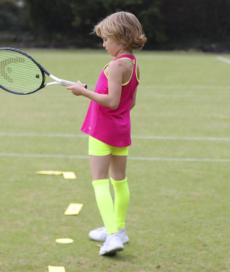 pink jessica tennis tank top vest zoe alexander uk