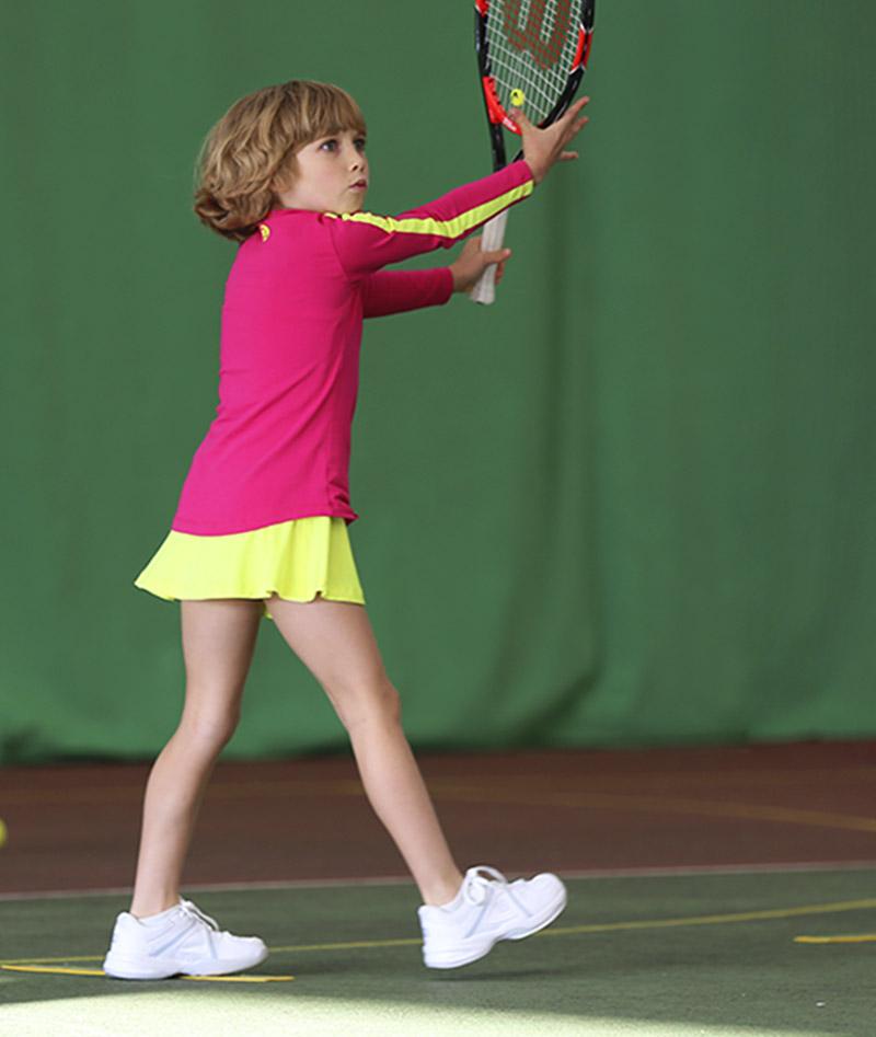 girls tennis tunic long sleeve zoe alexander