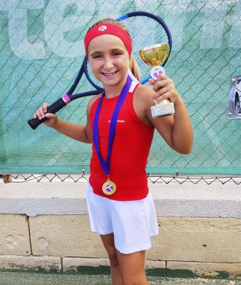Kayleigh Tennis DRESS RED white Zoe Alexander uk za  IMG_2686