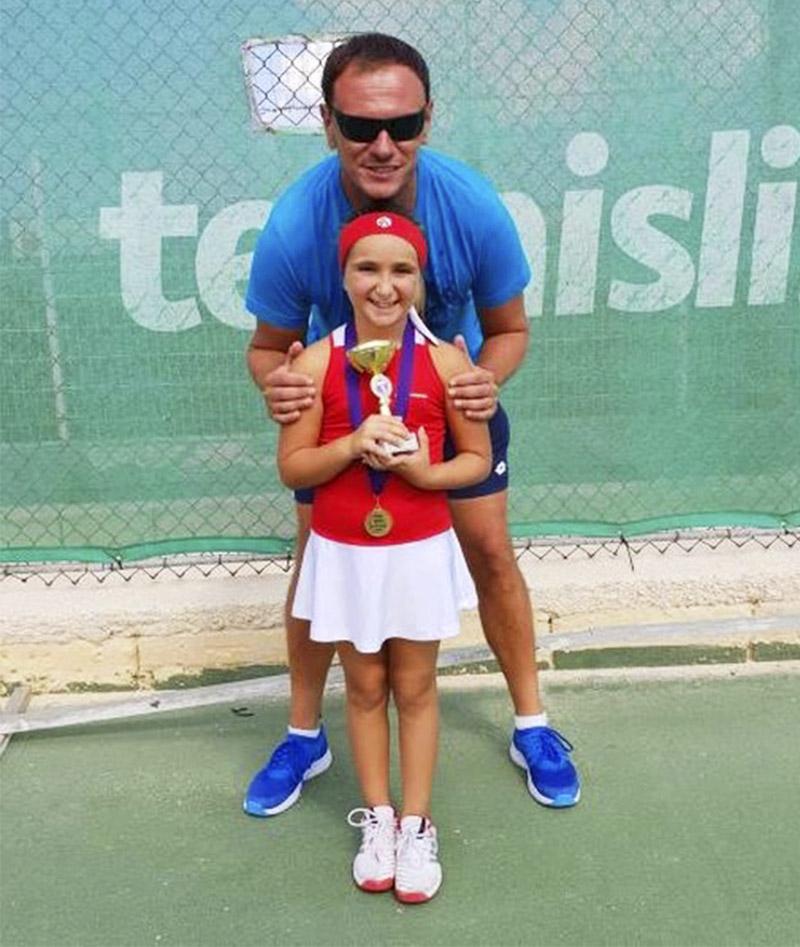 tennis dress girls white red Zoe Alexander uk za
