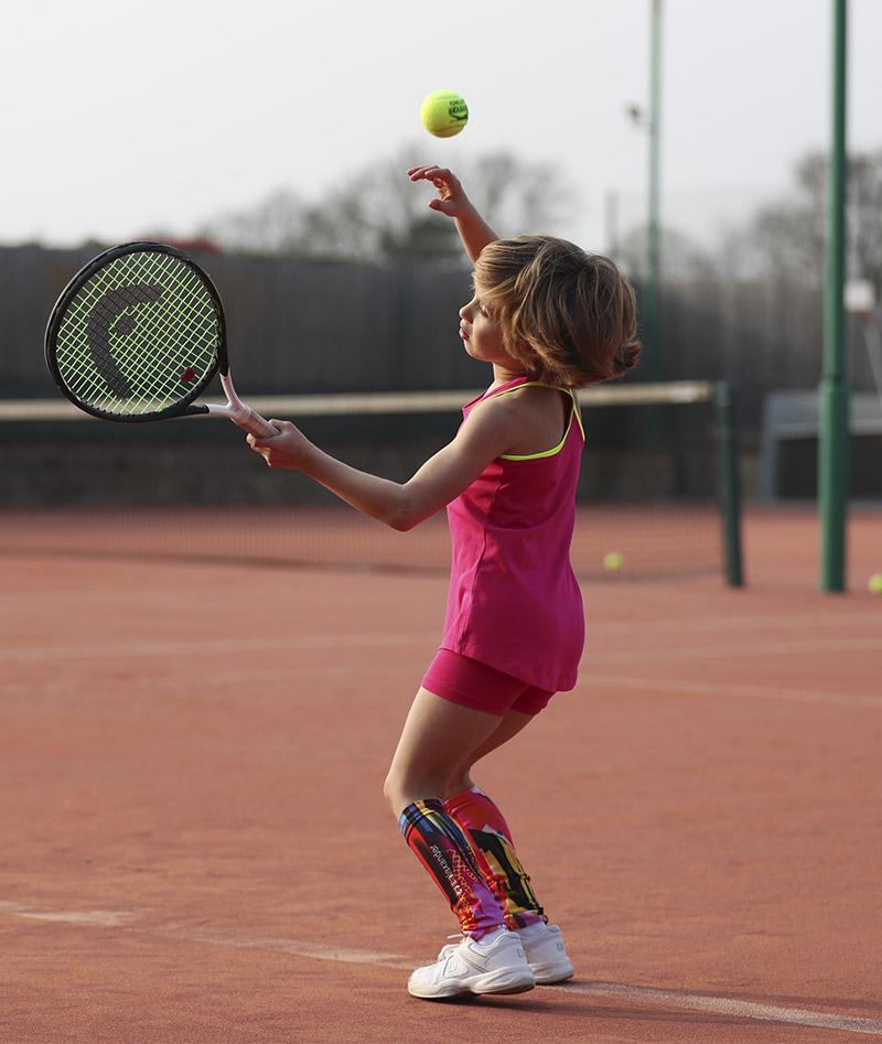 tennis vest tank top Jessica Zoe Alexander