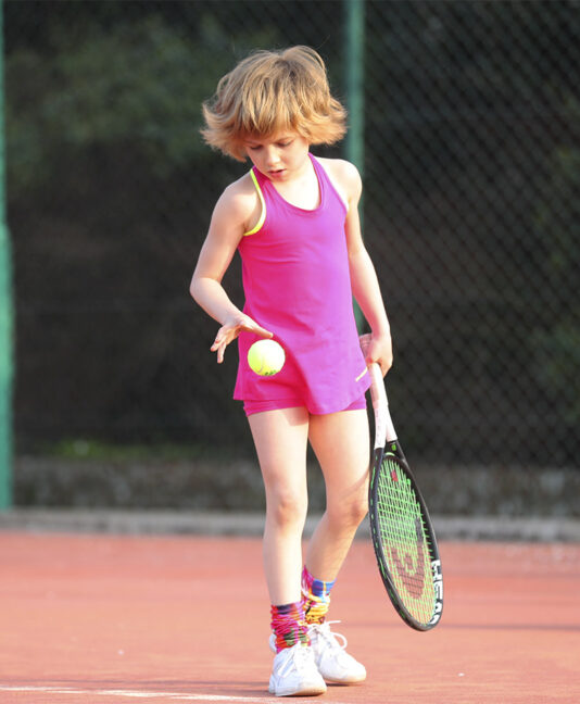 pink tennis tank top Zoe Alexander Jessica