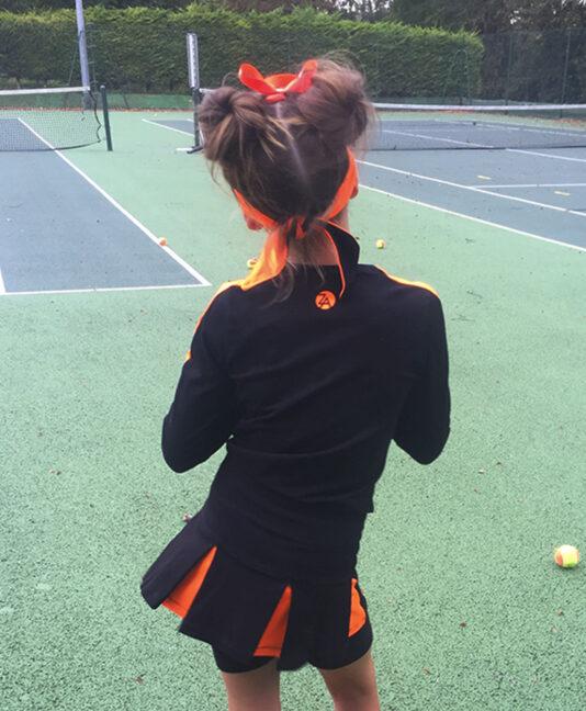 za tennis clothes