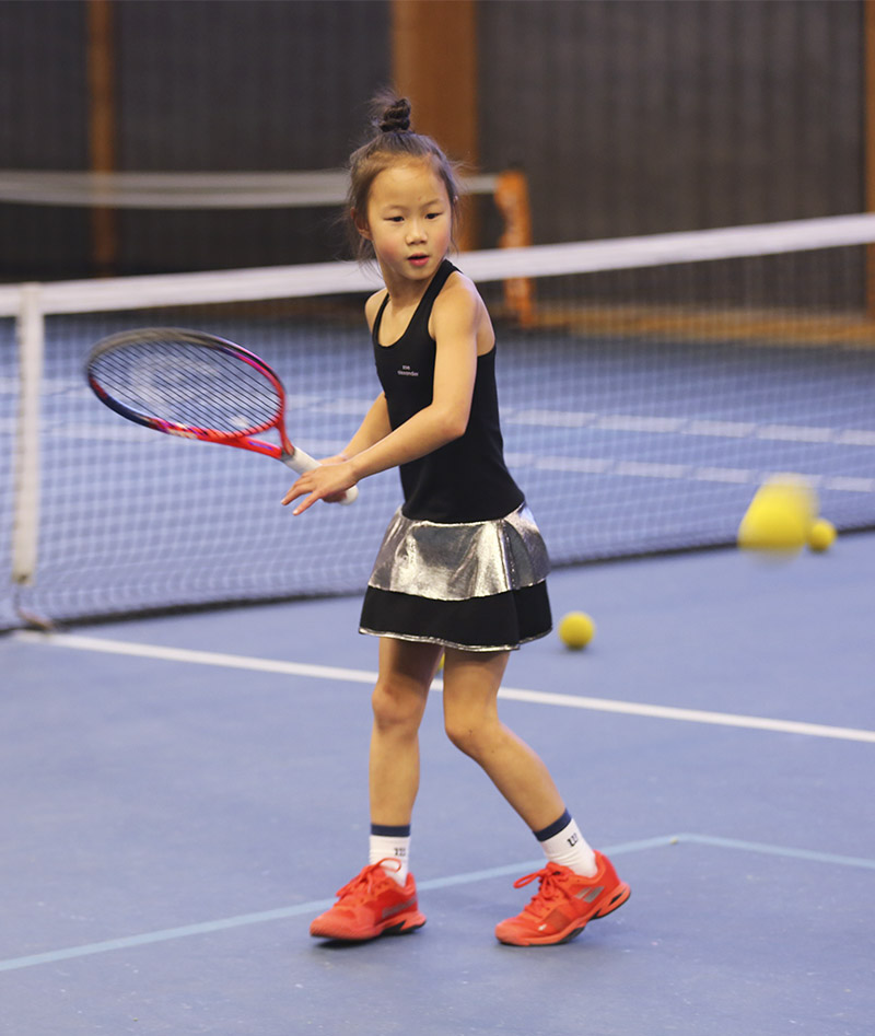 black tennis dress zoe alexander uk