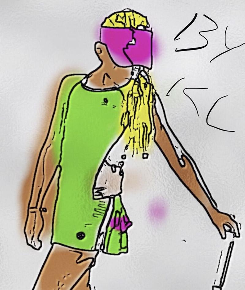 pistachio green tennis outfit zoe alexander kaia