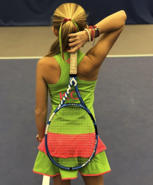 TENNIS DRESS KAIA ZOE ALEXANDER UK ZA