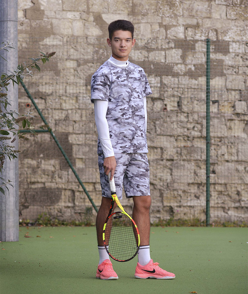 boys winter camo greta tennis top zoe alexander uk