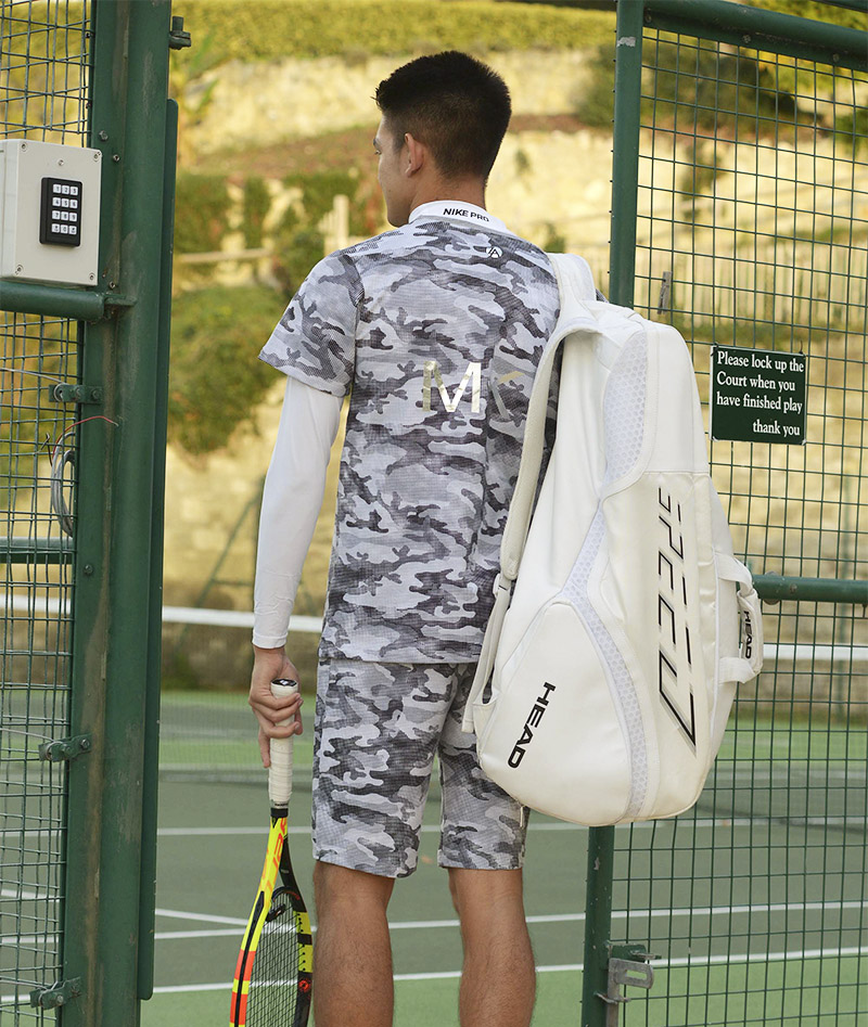 winter tennis top for boys camo zoe alexander uk