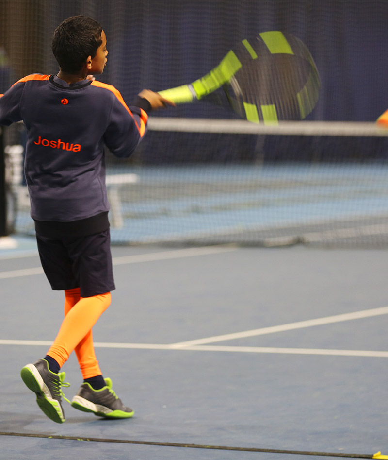 neon base layer tennis for boys
