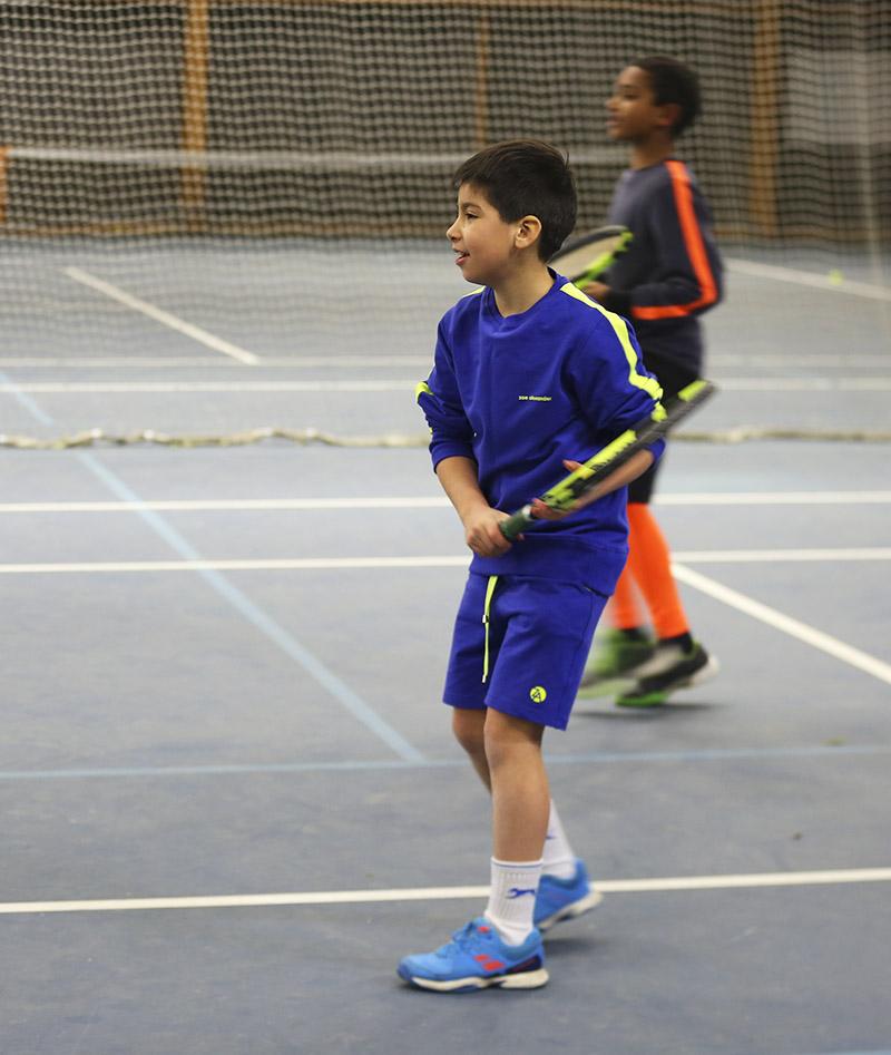 striped arm sweatshirt for tennis boys zoe alexander