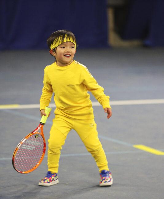 boys tennis clothes yellow kit zoe alexander apparel