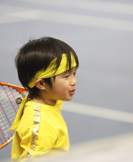 boys junior tennis headbands bandana yellow us open zoe alexander uk